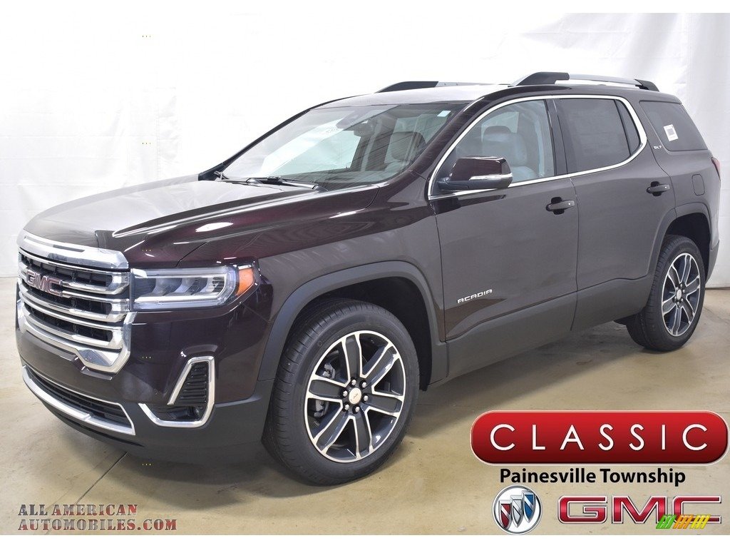 2020 Acadia SLT AWD - Red Mahogany Metallic / Cocoa/­Light Ash Gray photo #1