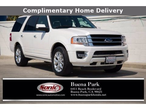 Oxford White 2017 Ford Expedition Limited 4x4