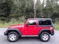 Jeep Wrangler Sport 4x4 Flame Red photo #1