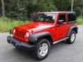Jeep Wrangler Sport 4x4 Flame Red photo #3