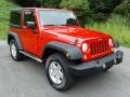 Jeep Wrangler Sport 4x4 Flame Red photo #5