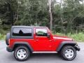 Jeep Wrangler Sport 4x4 Flame Red photo #6