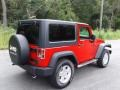 Jeep Wrangler Sport 4x4 Flame Red photo #7