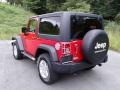 Jeep Wrangler Sport 4x4 Flame Red photo #9