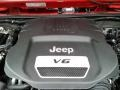 Jeep Wrangler Sport 4x4 Flame Red photo #10