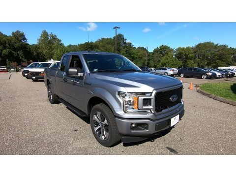 Iconic Silver 2020 Ford F150 XL SuperCab 4x4