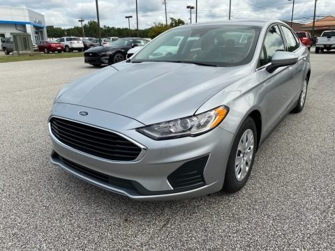 Iconic Silver 2020 Ford Fusion S