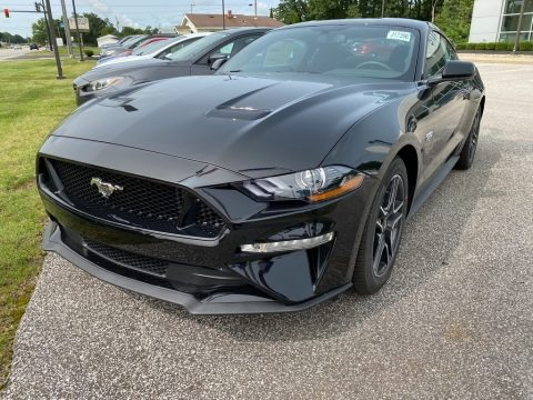 Shadow Black 2020 Ford Mustang GT Fastback