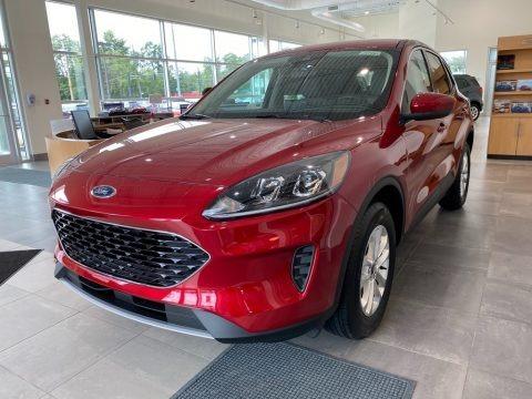 Rapid Red Metallic 2020 Ford Escape SE 4WD