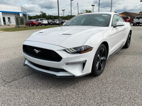 Oxford White 2020 Ford Mustang EcoBoost Premium Fastback