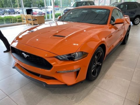 Twister Orange 2020 Ford Mustang EcoBoost Fastback