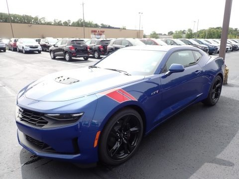 Riverside Blue Metallic 2021 Chevrolet Camaro LT1 Coupe