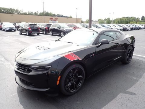Black 2021 Chevrolet Camaro LT1 Coupe