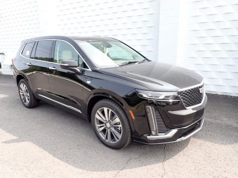 Stellar Black Metallic 2021 Cadillac XT6 Premium Luxury