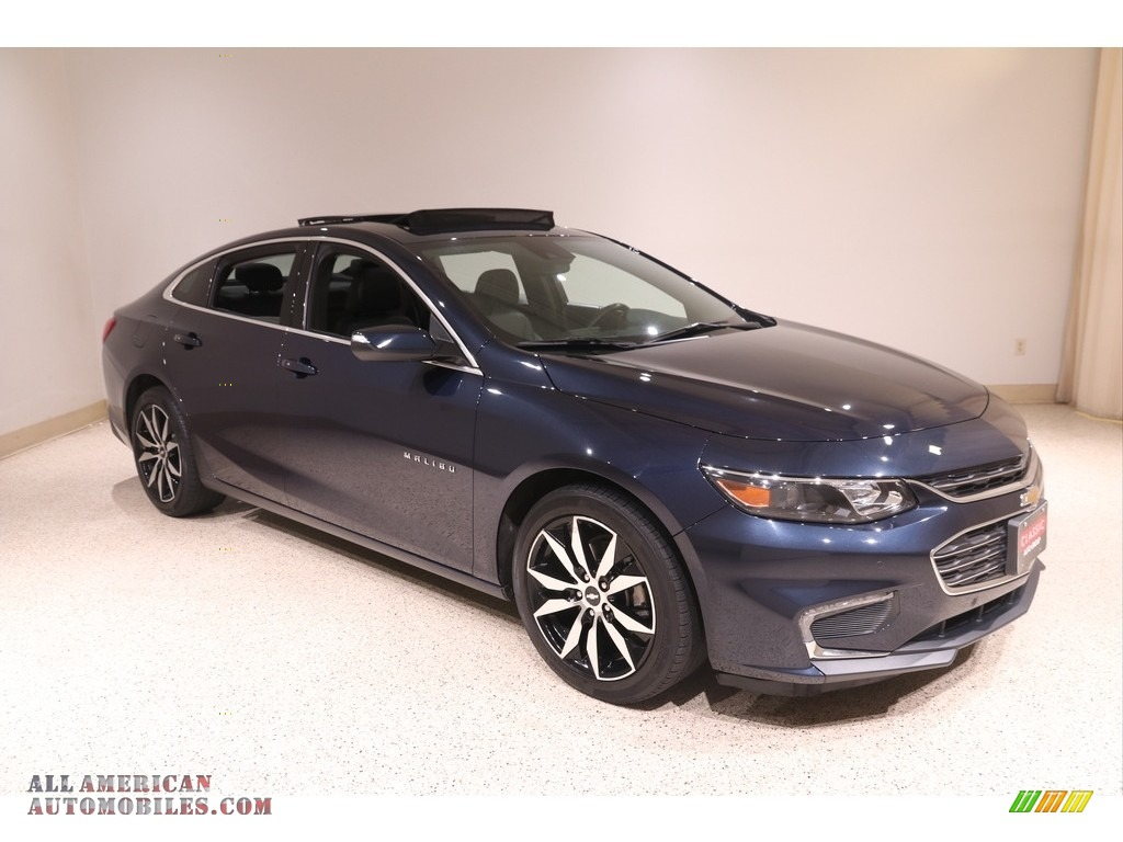 2017 Malibu LT - Blue Velvet Metallic / Jet Black photo #1