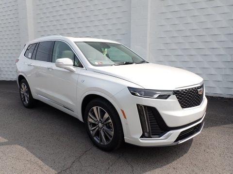 Crystal White Tricoat 2021 Cadillac XT6 Premium Luxury