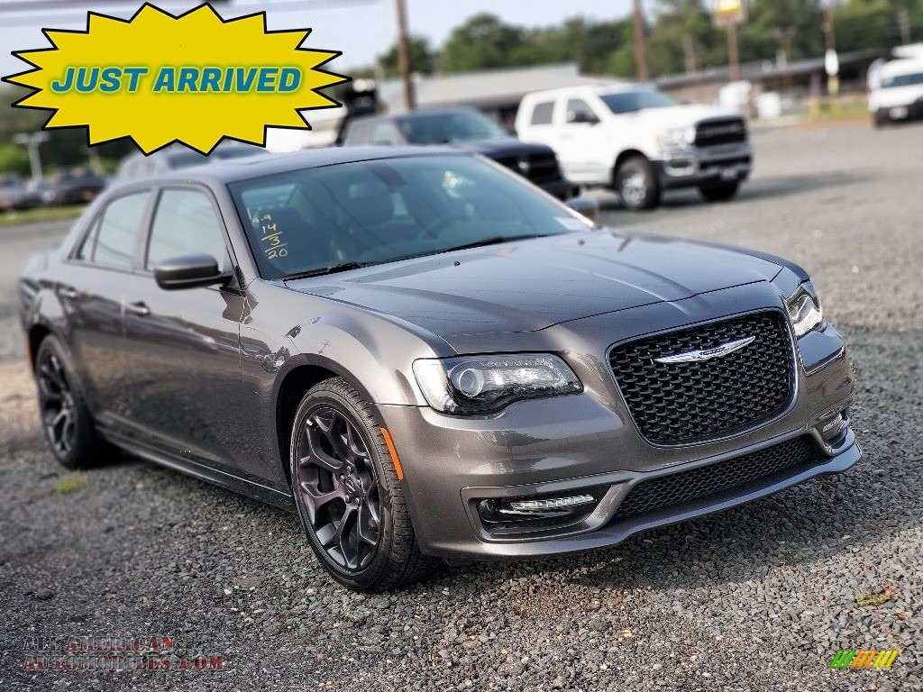 Granite Crystal Metallic / Black Chrysler 300 S