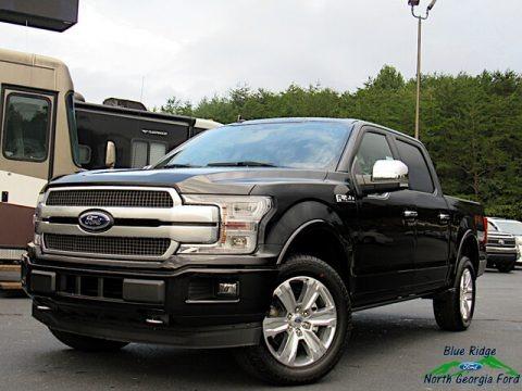 Agate Black 2020 Ford F150 Platinum SuperCrew 4x4