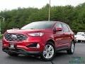 Ford Edge SEL AWD Rapid Red Metallic photo #1