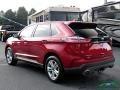 Ford Edge SEL AWD Rapid Red Metallic photo #3