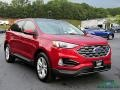 Ford Edge SEL AWD Rapid Red Metallic photo #7