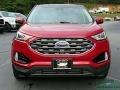 Ford Edge SEL AWD Rapid Red Metallic photo #8
