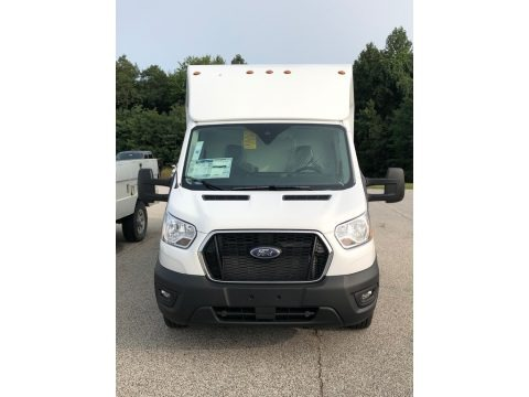Oxford White 2020 Ford Transit Van 350 Cutaway Utility