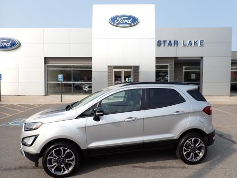 Moondust Silver Metallic 2020 Ford EcoSport SES 4WD