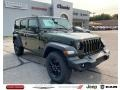 Jeep Wrangler Unlimited Sport 4x4 Sarge Green photo #1