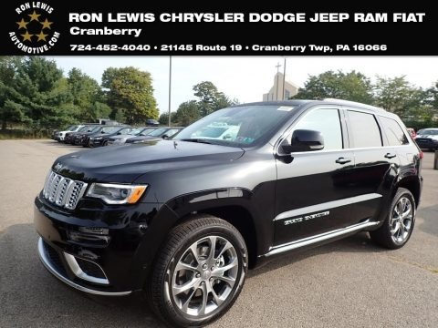 Diamond Black Crystal Pearl 2020 Jeep Grand Cherokee Summit 4x4