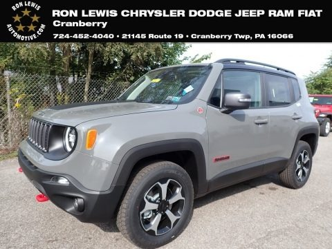 Sting-Gray 2020 Jeep Renegade Trailhawk 4x4
