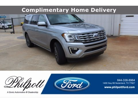 Iconic Silver 2020 Ford Expedition Limited Max