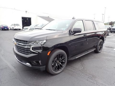 Black 2021 Chevrolet Suburban LT 4WD