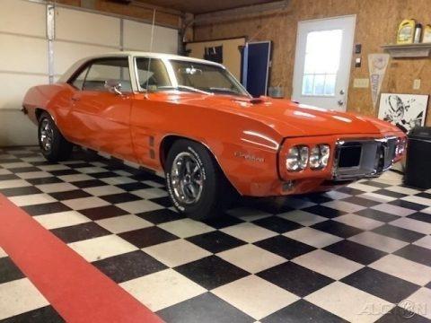 Carousel Red 1969 Pontiac Firebird Sport Coupe
