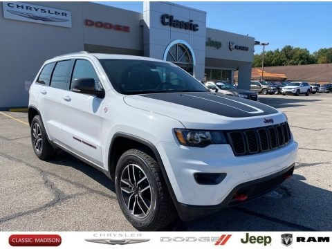 Bright White 2020 Jeep Grand Cherokee Trailhawk 4x4