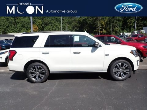 Star White 2020 Ford Expedition King Ranch 4x4