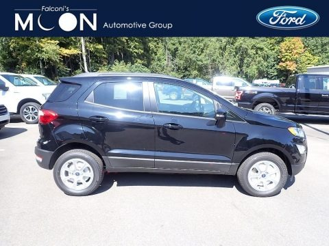 Shadow Black 2020 Ford EcoSport SE 4WD