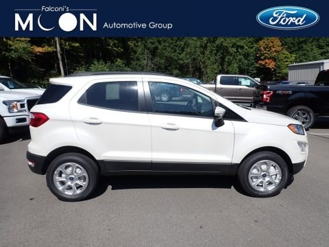 Diamond White 2020 Ford EcoSport SE 4WD