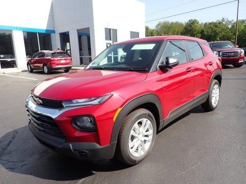 Scarlet Red Metallic 2021 Chevrolet Trailblazer LS