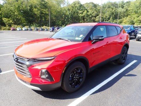 Red Hot 2021 Chevrolet Blazer LT AWD
