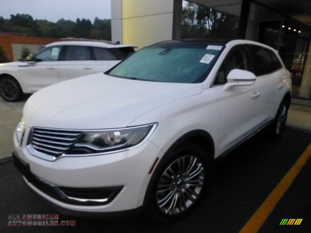 2018 MKX Reserve AWD - White Platinum Metallic Tri-Coat / Cappuccino photo #1