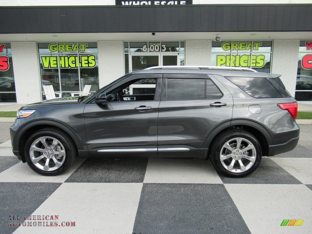 2020 Explorer Platinum 4WD - Magnetic Metallic / Ebony photo #1