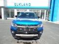 Chevrolet Colorado Z71 Crew Cab 4x4 Bright Blue Metallic photo #2