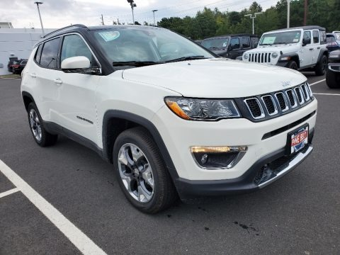 White 2021 Jeep Compass Limited 4x4
