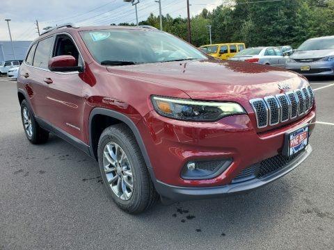 Velvet Red Pearl 2021 Jeep Cherokee Latitude 4x4