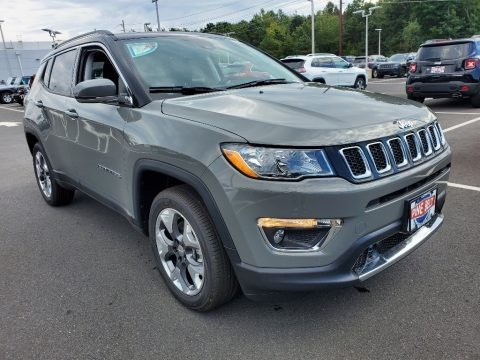 Sting-Gray 2021 Jeep Compass Limited 4x4