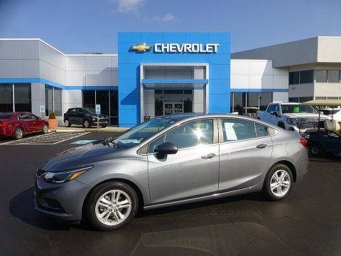 Satin Steel Gray Metallic 2018 Chevrolet Cruze LT