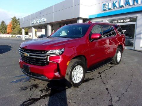 Cherry Red Tintcoat 2021 Chevrolet Tahoe LT 4WD