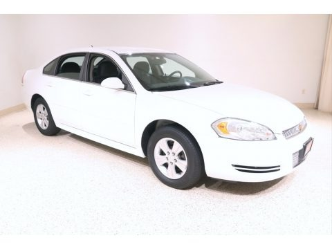 Summit White 2012 Chevrolet Impala LS