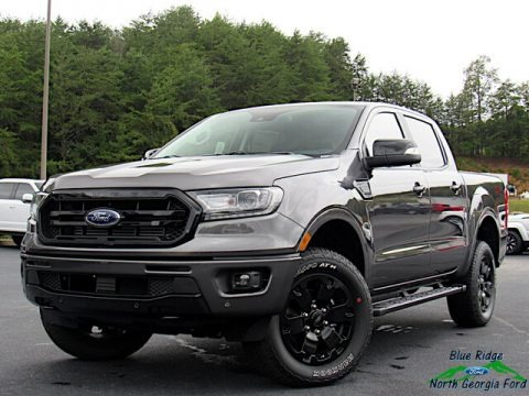 Magnetic 2020 Ford Ranger Lariat SuperCrew 4x4